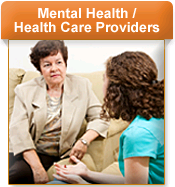 link to resources for mental health and healthcare providers